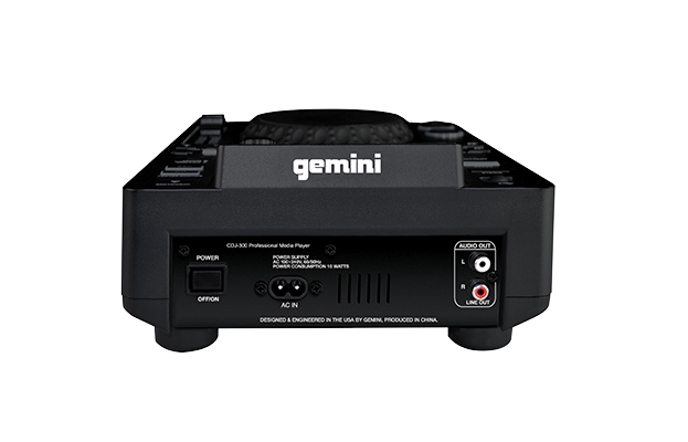 GEMINI prehrávač, Single-CD / MP3, USB, Loop, Scratchmode