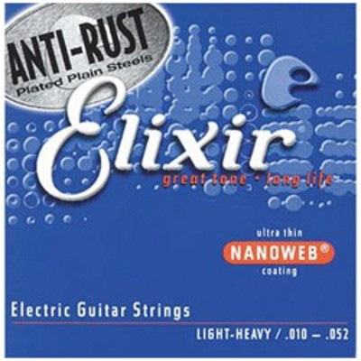 Elixir Electric Nanoweb 12077 Light/Heavy 010-052